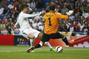 Navas debuta, Cristiano hace 4, Madrid gana 5-1