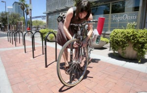 Existing firms offered free bike racks