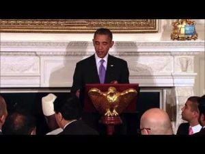 Obama celebrates Ramadan at White House