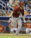 Inciarte preserves streak, but D-backs flounder in Miami