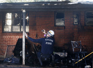 Family of 7 displaced by house fire