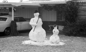 Photos: 21 photos from the 1960s of snow in Tucson