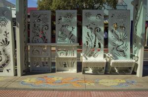 Photos: Public art along Streetcar route