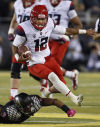 UA football: Stats, results show Wildcats a 2nd-half team