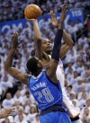 NBA playoffs Thunder 102, Mavericks 99 FTs win barnburner for Thunder