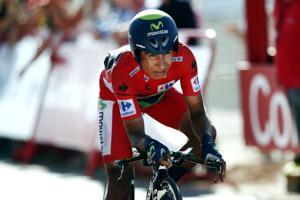 Vuelta: Se cae Quintana, Contador nuevo líder