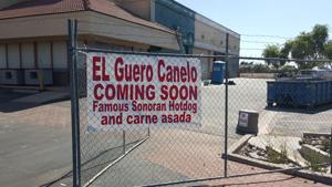 El Guero Canelo construction underway in Phoenix