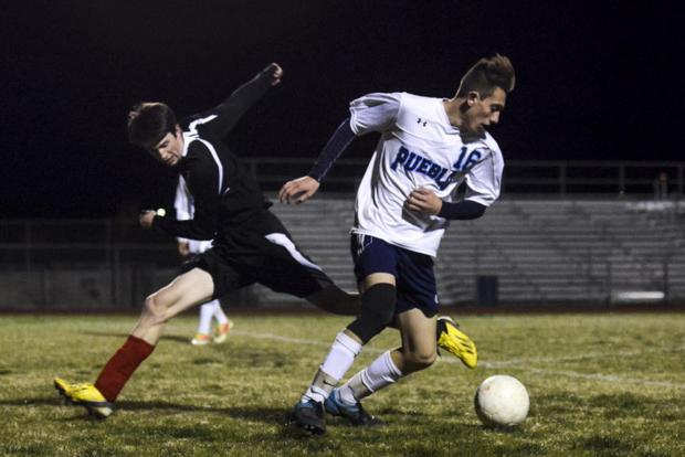 Torres hat trick powers Pueblo to state quarterfinal berth