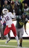 Final: Oregon Ducks 48,  Arizona Wildcats 29