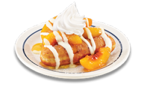IHOP celebrates fall with new peach, strawberry French toast