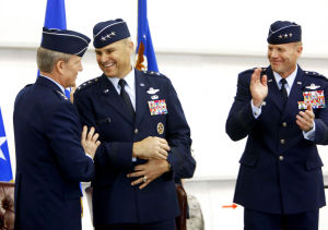 Nowland takes command of 12th Air Force at DM