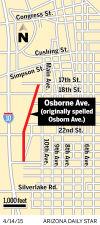 Osborne Avenue map