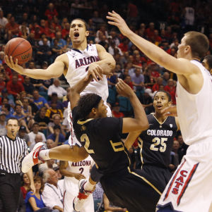 Photos: Pac-12 Tournament: Arizona vs Colorado