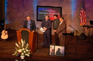 Dorwan Stoddard: devoted husband, tireless church volunteer, hero