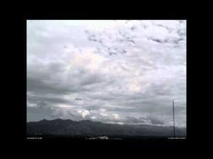 Today's Tucson clouds in 20 seconds