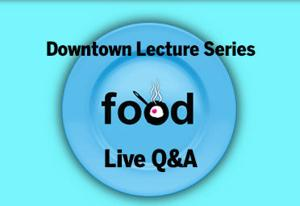 Live Q&A transcript: We Eat What We Are