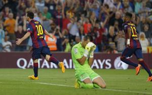Messi, menos goles, pero más letal