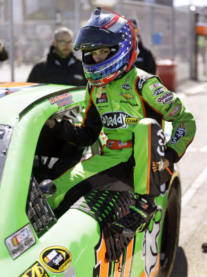 Auto racing: Danica makes history by taking Daytona pole