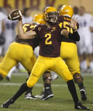 Patience pays off for ASU QB Bercovici