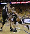 NBA playoffs Spurs 102, Warriors 92 Spurs cool down streaky Warriors