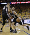 NBA playoffs: Spurs 102, Warriors 92: Spurs cool down streaky Warriors