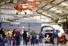 Santa lands at Pima air museum
