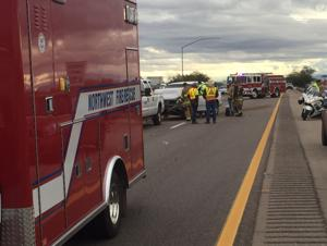 WB I-10 lanes open, but traffic delayed