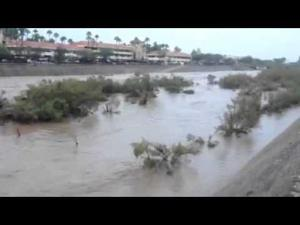 Hyperlapse of the Rillito River flowing