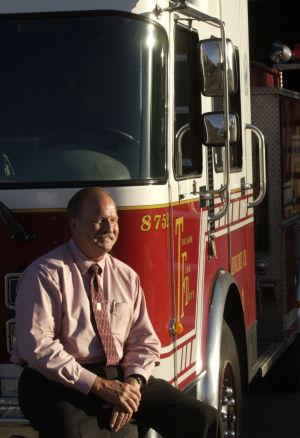 Retired Fire Chief Dan Newburn dies