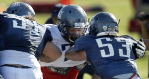 UA football: Kish working to bind team together