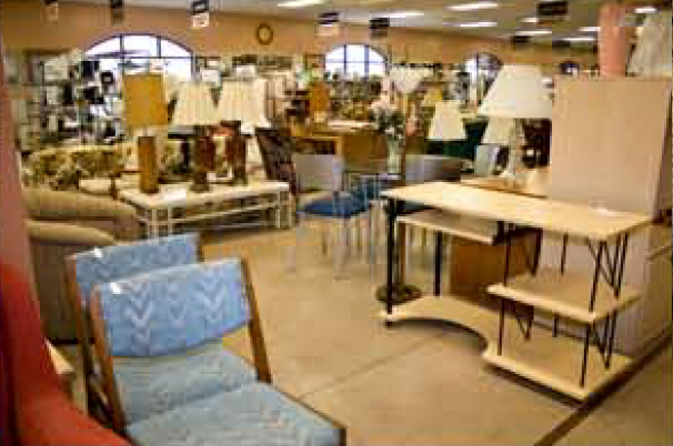Golden Goose donations furniture