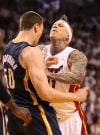 NBa playoffs Heat can clinch, but not with 'Birdman'