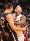 NBa playoffs: Heat can clinch, but not with 'Birdman'