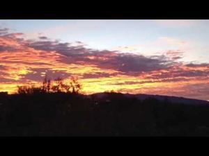 Sunrise spectacle