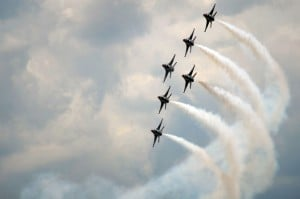 Sonic boom from air show practice rattles Tucson