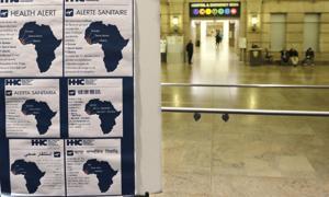 Tres en cuarentena por primer caso ébola en NY