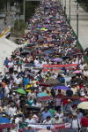 Thousands demand return of missing Mexico students
