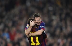 Messi va por otro gran récord en Liga de Campeones