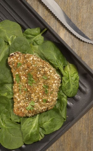 Tangy Sesame-Coated Pork Chops recipe offers a tasty way to get more sesame into your diet
