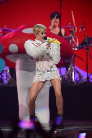 Photos: Has Miley Cyrus gone over the edge?