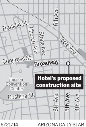 Archaeological study now needed at downtown hotel site