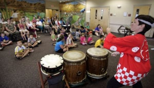 Taiko drummers bring the beat to Oro Valley library