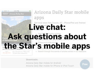 Transcript: Ask us about the Star's news and sports apps