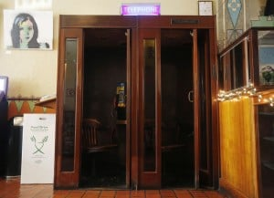 Hotel Congress booths survive foray by telephone company