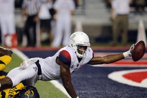 Photos: UA receiver Cayleb Jones