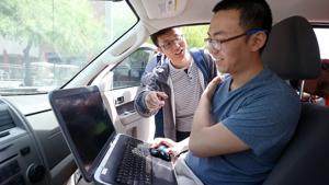 Photos: Students program driverless car at UA