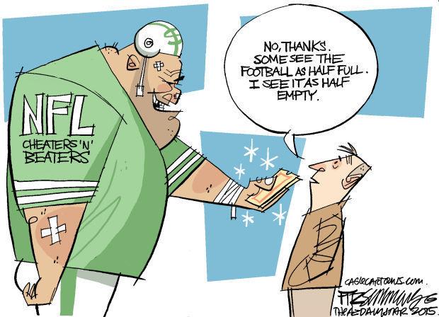 Daily Fitz Cartoon: Stupor Bowl