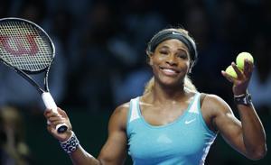 Serena arrolla a Bouchard en Copa WTA