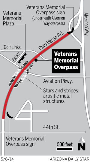 Veteran's Memorial Overpass