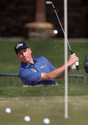 Photos: Match play practice rounds begin